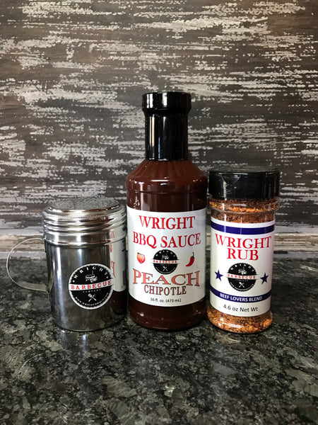 Wright Rub Beef Lovers Blend Starter Pack - Wright BBQ Company