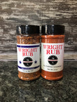 9.2oz Beef Lovers Blend and 11.5oz All Purpose - Wright BBQ Company