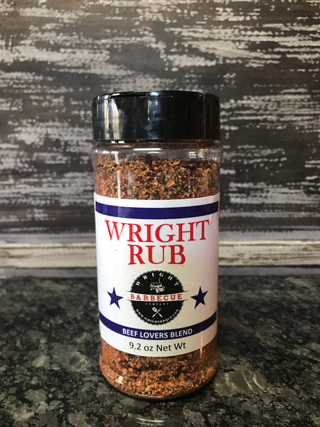 9.2oz Wright Rub Beef Lovers Blend