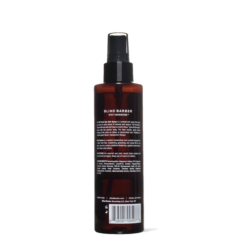 Spray de Sal de Mar 40 Proof de 180ml - Tiger and Son