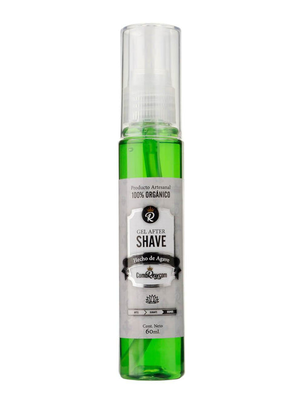 Gel AfterShave aroma a Agave de 60 mL.