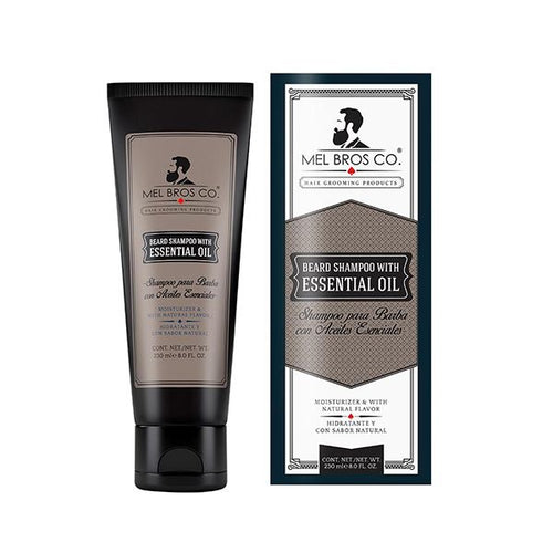 Shampoo para barba de 8 oz - Tiger and Son