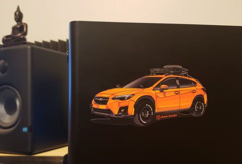 4x4.Subi Sticker