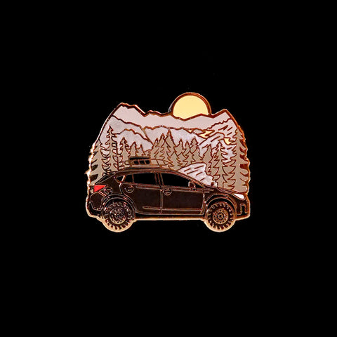 Mountain Crosstrek Pin
