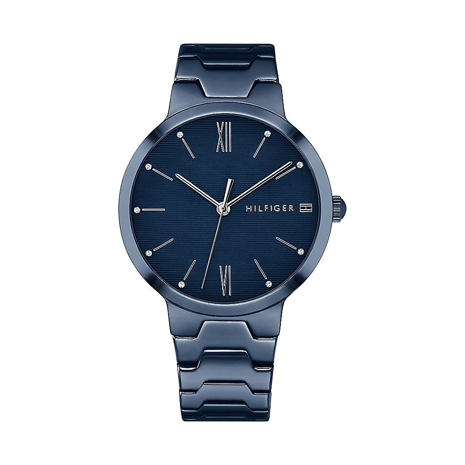 Tommy Hilfiger Wome's Blue Monochrome Dress Watch