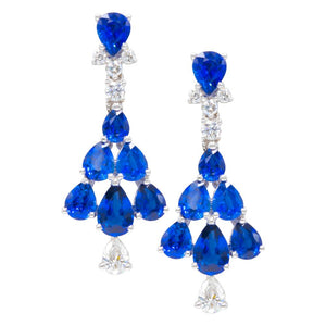 Antwerp Diamonds chandelier earrings