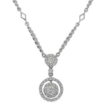 Antwerp Diamonds Necklace with 45 round brilliant shape diamonds