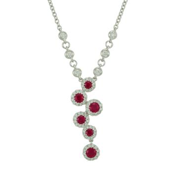 Antwerp Diamonds bubble necklace