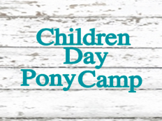 Children Pony Camp