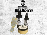 Sexy As Hell 24K Beard Set - SEXY AS HELL BEARD CARE