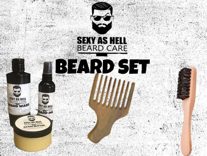 The Sexy As Hell Beard Set $70