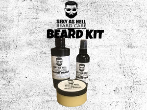Sexy As Hell Beard Kit $50
