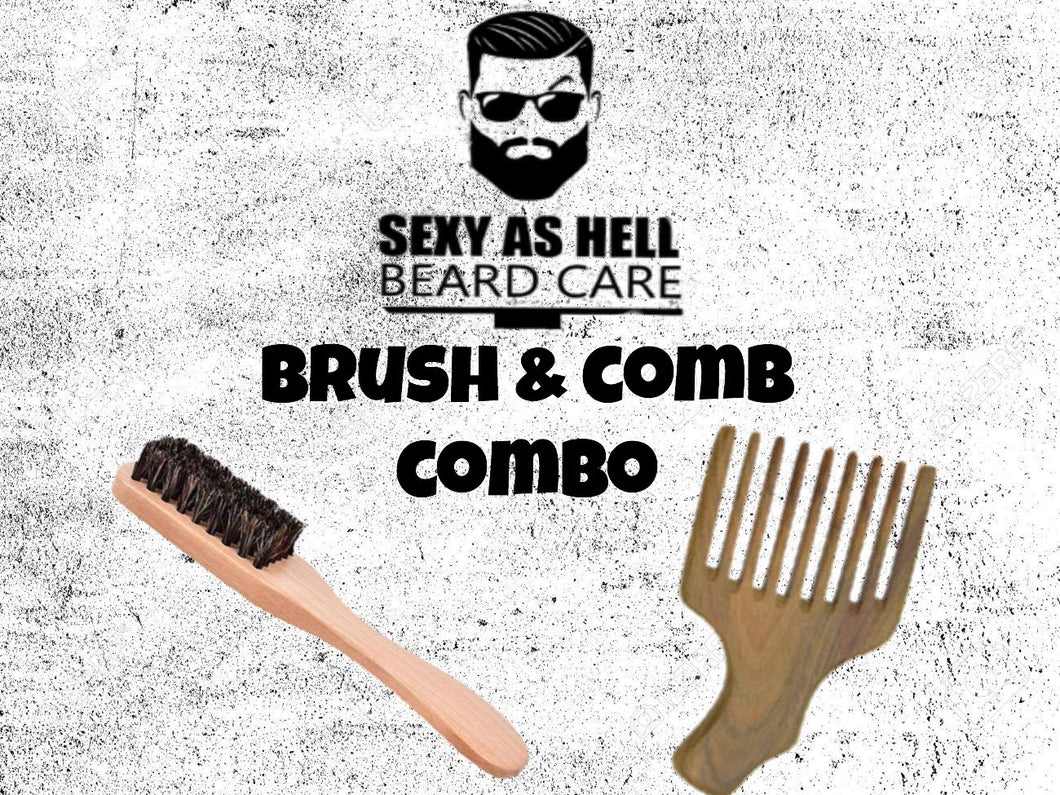 The Sexy As Hell Brush & Comb COMBO
