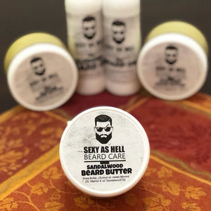 SEXY AS HELL SANDALWOOD BEARD BUTTER 4 oz