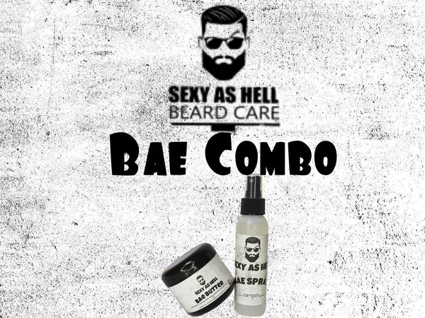 THE SEXY AS HELL BAE COMBO - SEXY AS HELL BEARD CARE