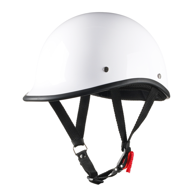 Smallest SOA Half Helmet - White
