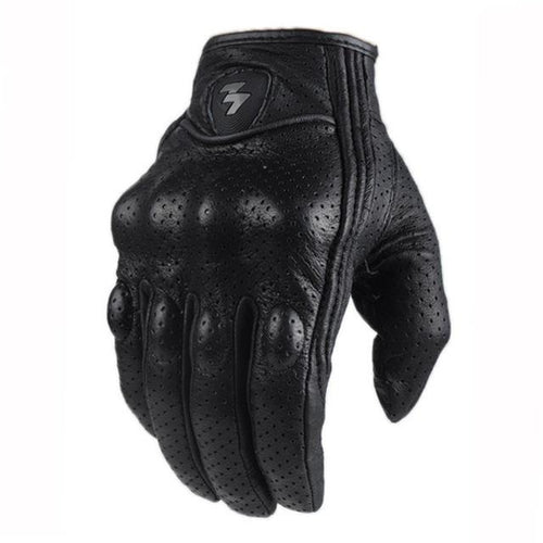Leather Short Gloves - Riders Gear Store