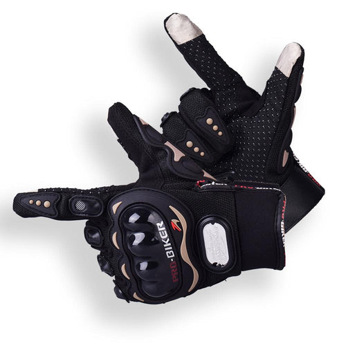 SHORT GLOVES WITH SCREEN TOUCH - Riders Gear Store