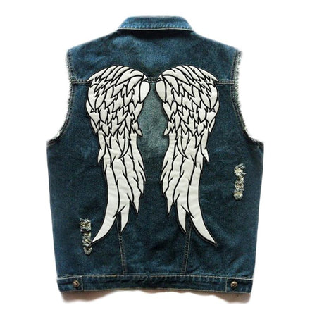 Denim Vest - Riders Gear Store