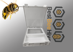 Best Bee Hive 3 in 1 Cover/Feeder
