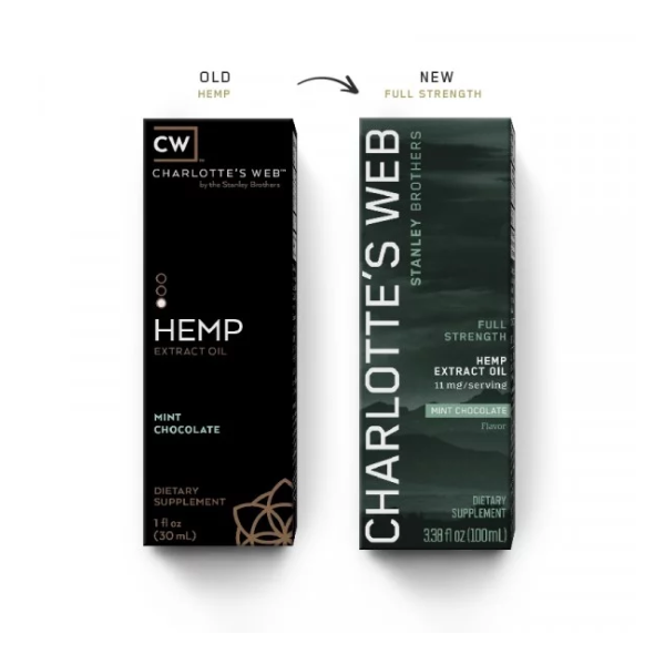 CW HEMP FULL STRENGTH HEMP OIL