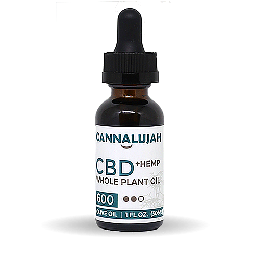 600mg Extra Strength Whole Plant Hemp Oil