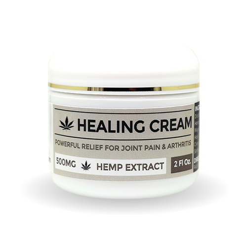 Healing Cream 500mg Hemp Extract