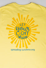 "Load image into Gallery viewer, ""Let Your Light Shine"" Short Sleeve T-Shirt"