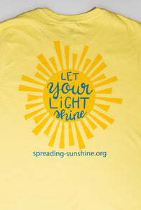 """Let Your Light Shine"" Short Sleeve T-Shirt"