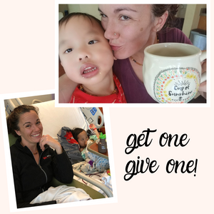 "GET one! GIVE one! ""cup of sunshine"" Mug"