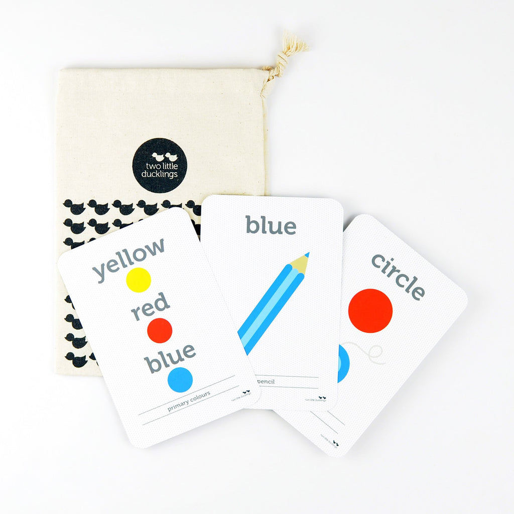Colour & Shapes Flash Cards