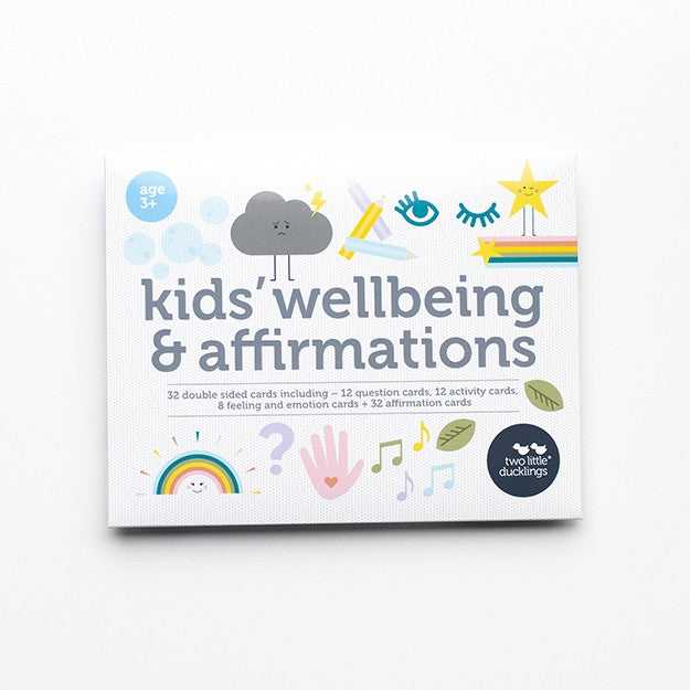 Kids' Welbeing and Affirmation Cards