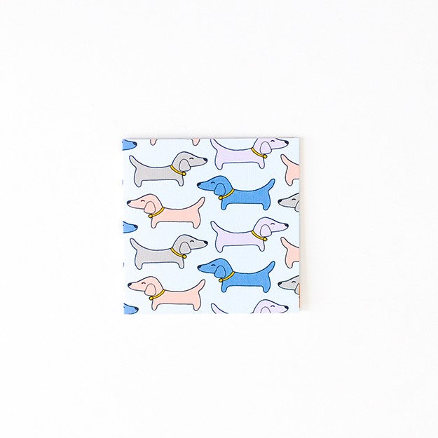 Small blank Card - Dogs