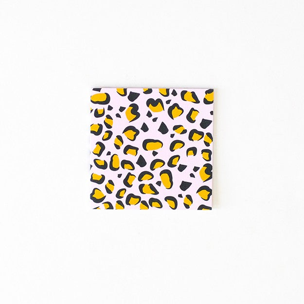 Small blank Card - Leopard