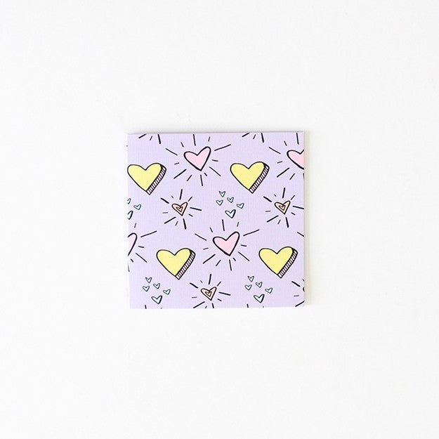 Small blank Card - Love Hearts
