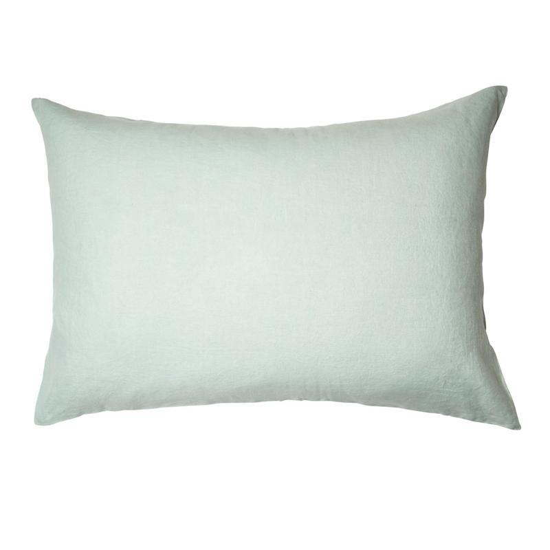 Sage & Clare Moonlight Linen Standard Pillowcase Set