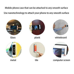 Anti Gravity Nano Suction Adsorbed Samsung Case