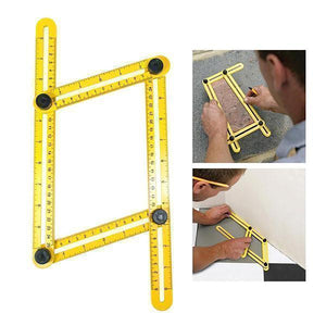 *Multi-Angle Four Folding Ruler