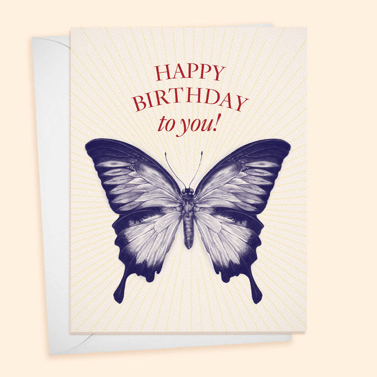 Happy Birthday to You! Butterfly