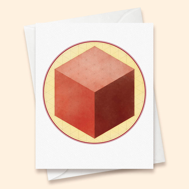 Hexahedron Card