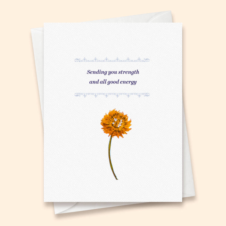 Sympathy - Strength Card