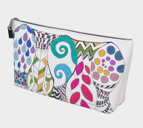 5 Fish Makeup Bag