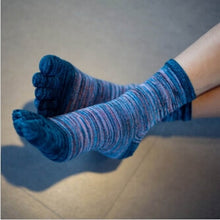 Load image into Gallery viewer, Retro Color Five Toe Socks
