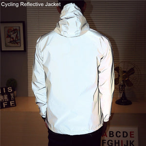 Cool Windbreaker Reflective Riding Jacket