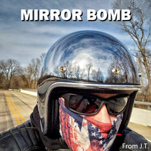 Load image into Gallery viewer, Mirror Vintage Motorcycle Helmet