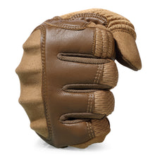 Load image into Gallery viewer, Touchscreen PU Leather Motorcycle Hard Knuckle Full Finger Gloves