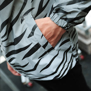Cycling Windbreaker Reflective Jacket