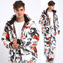 Load image into Gallery viewer, Men Super Warm Clothing Skiing Snowboard Jacket+Pants