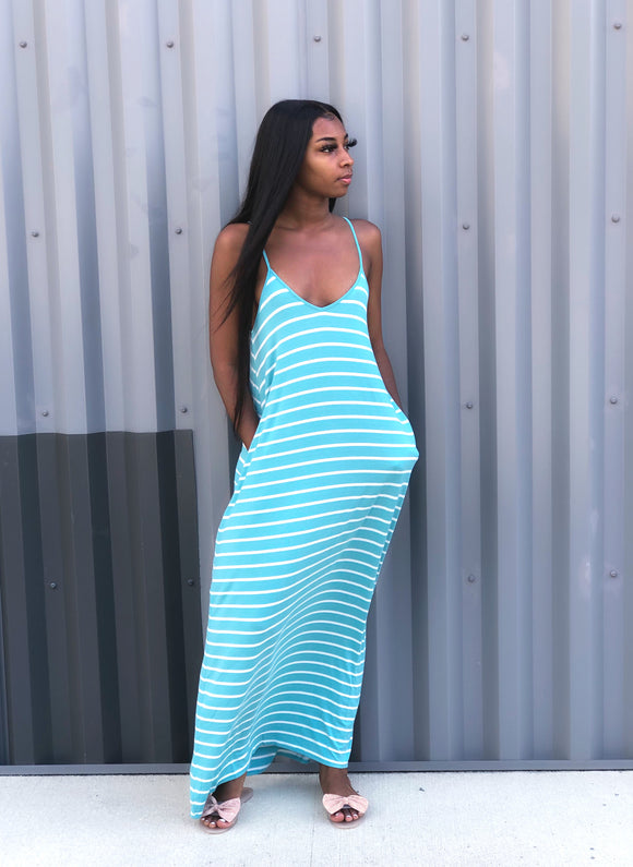 Cute and Simple Maxi Dress