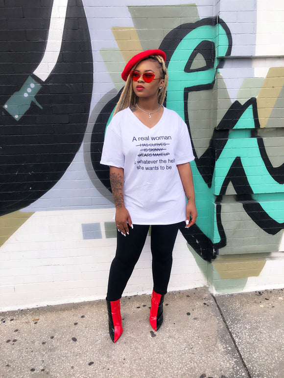A Real Woman Tee